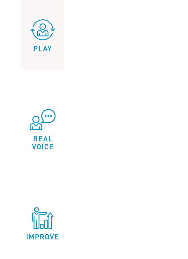 PLAY REAL VOICE IMPROVE